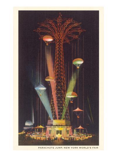 Parachute Jump, New York World's Fair--Art Print