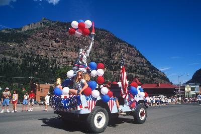Parade, July 4th, Ouray, Colorado--Photographic Print