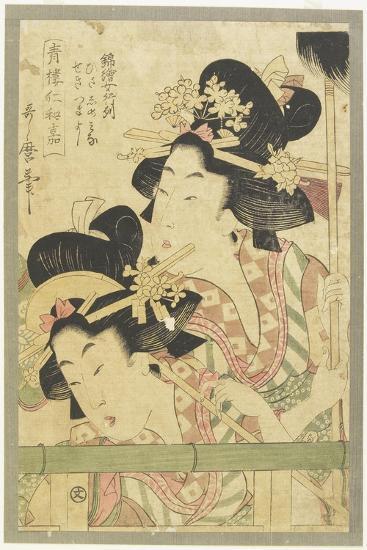 Parade of Courtesans, 1781-1806-Kitagawa Utamaro-Giclee Print