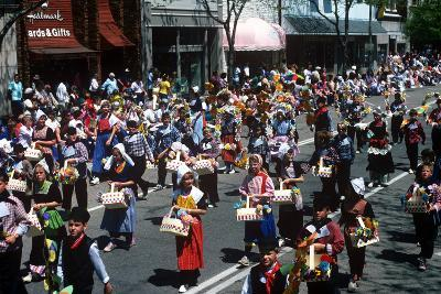 Parade, Tulip Time Festival, Holland, Michigan--Photographic Print