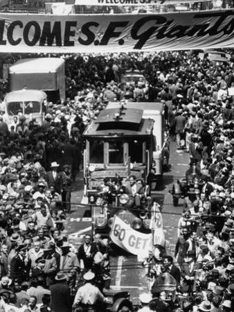 Parade Welcoming the Giants to San Francisco