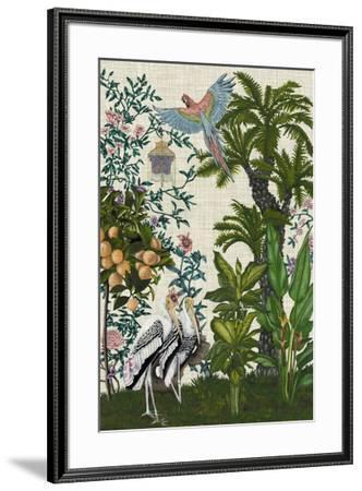 Paradis Chinoiserie II-Naomi McCavitt-Framed Giclee Print