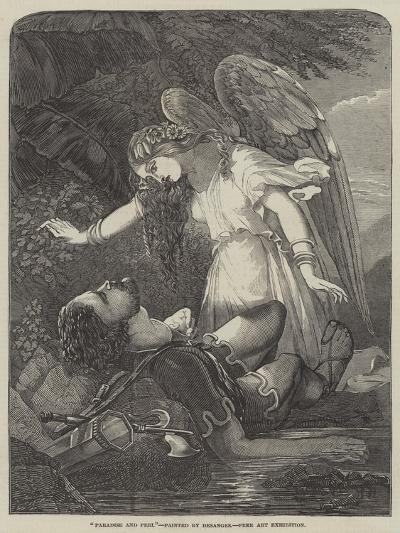 Paradise and Perl-Chevalier Louis-William Desanges-Giclee Print