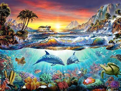 Paradise Bay-Adrian Chesterman-Art Print