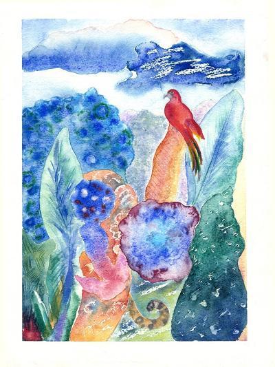 Paradise Bird, 2010-Louise Belanger-Giclee Print