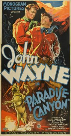 Paradise Canyon, John Wayne, 1935