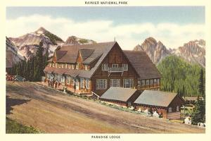 Paradise Inn, Rainier National Park