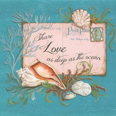 Paradise Postcards I-Kate McRostie-Art Print