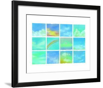 Paradise Sky-Miyuki Hasekura-Framed Giclee Print
