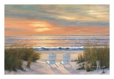 Paradise Sunset-Diane Romanello-Art Print