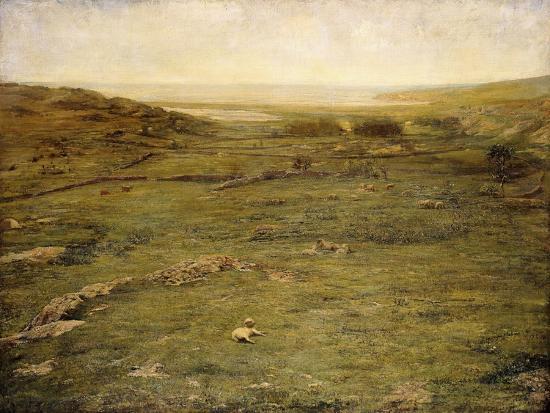 Paradise Valley-John La Farge-Giclee Print