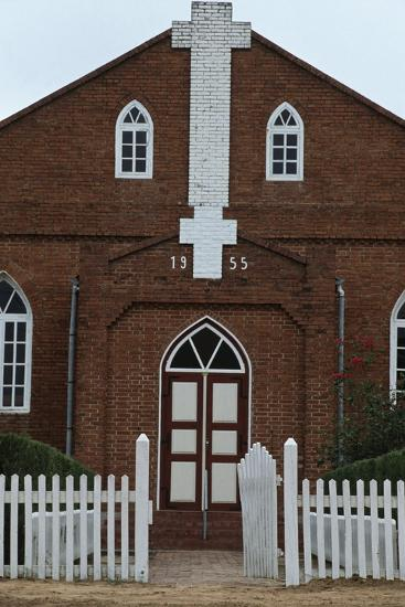 Paraguay, Chaco, Filadelfia, Mennonite Church--Giclee Print