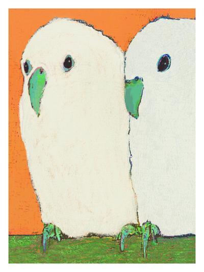Parakeets No Text-Lisa Weedn-Giclee Print