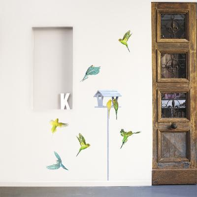 Parakeets--Wall Decal