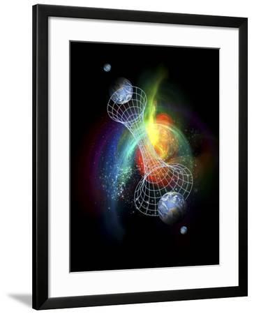 Parallel Universes, Conceptual Artwork-Victor Habbick-Framed Photographic Print