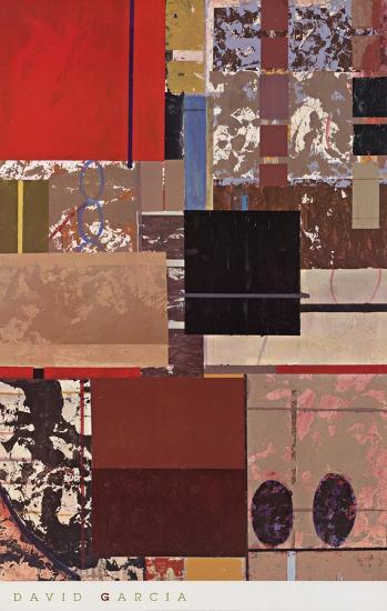 Parallels I-Cuca Garcia-Art Print