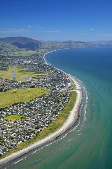 Paraparaumu Beach, Kapiti Coast, Wellington, North Island, New Zealand-David Wall-Photographic Print