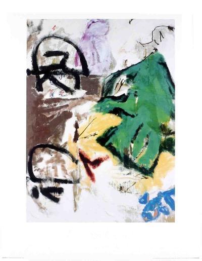 Parapliers, the Willow Dipped, 1987-Don Van Vliet-Art Print