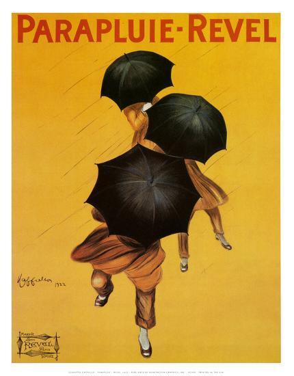 Parapluie Revel-Leonetto Cappiello-Art Print
