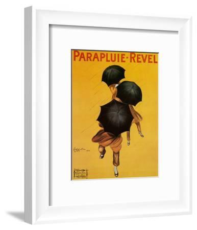 Parapluie Revel-Leonetto Cappiello-Framed Art Print