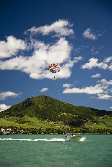 Parasailing; Mauritius-Design Pics Inc-Photographic Print