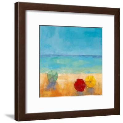 Parasols II-Regine Pivier-Attolini-Framed Art Print