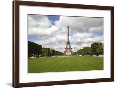 Parc Du Champ De Mars, Eiffel Tower, Paris, France, Europe-Gavin Hellier-Framed Photographic Print