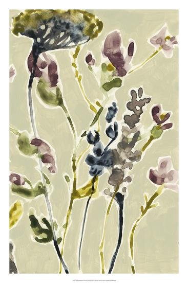 Parchment Flower Field II-Jennifer Goldberger-Premium Giclee Print
