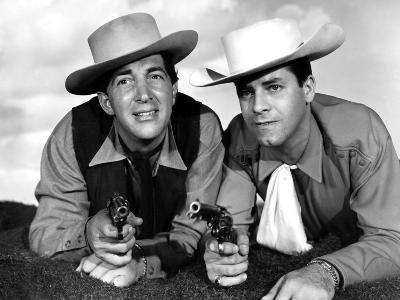 Pardners, Dean Martin And Jerry Lewis, 1956--Photo
