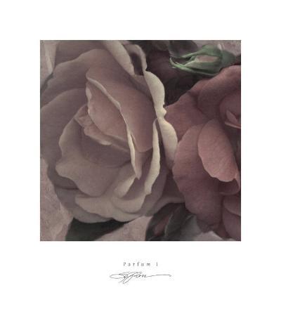 Parfum I-S^ G^ Rose-Art Print