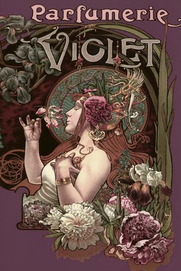 Parfumerie Violet--Giclee Print