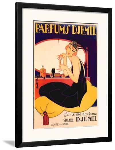 Parfums Djemil--Framed Art Print