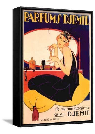 Parfums Djemil--Framed Canvas Print