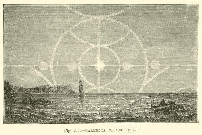 Parhelia, or Mock Suns--Giclee Print