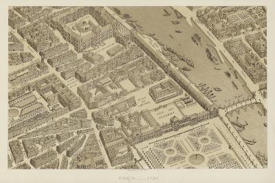 Paris, 1730--Giclee Print