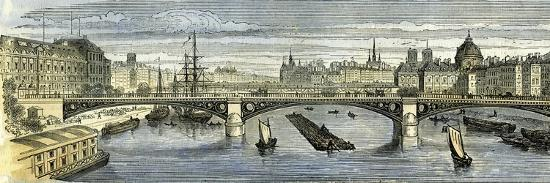 Paris 1864 France--Giclee Print