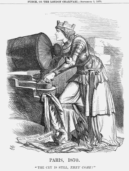 Paris, 1870-Joseph Swain-Giclee Print