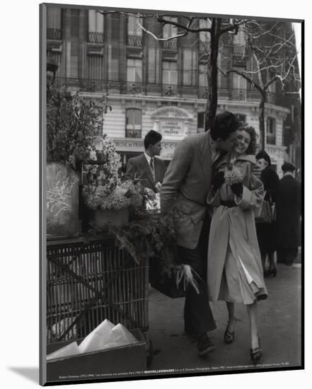 Paris, 1950-Robert Doisneau-Mounted Art Print