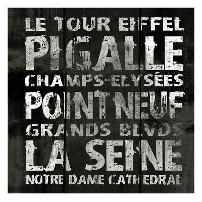 Paris 2-Jace Grey-Art Print