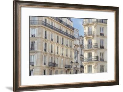 Paris Apartement Buildings-Cora Niele-Framed Giclee Print