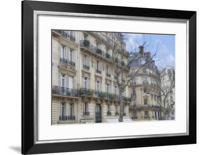 Paris' Apartement Buildings-Cora Niele-Framed Giclee Print