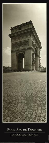 Paris, Arc de Triomphe-Ralph Uicker-Art Print
