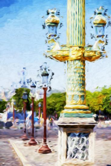 Paris Architecture III - In the Style of Oil Painting-Philippe Hugonnard-Giclee Print