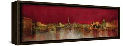 Paris at Night-Kemp-Framed Canvas Print