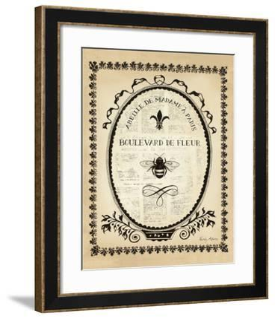 Paris Bees II-Emily Adams-Framed Art Print