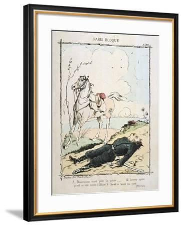 Paris Besieged, 1870-1871--Framed Giclee Print