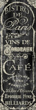 Paris Bistro VII-Color Bakery-Giclee Print