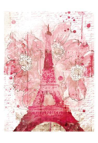 Paris Bloom-OnRei-Art Print