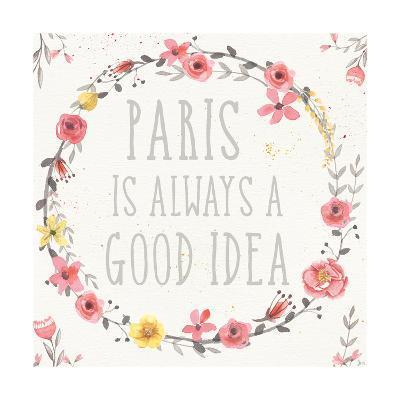 Paris Blooms IV-Jess Aiken-Art Print