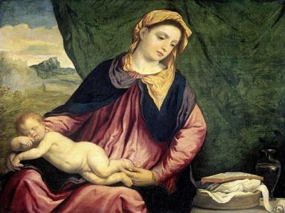 Madonna with Sleeping Child, Between 1540 and 1560